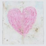 Heart on card, Manchester Together Archive